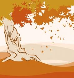 autumn season vector image
