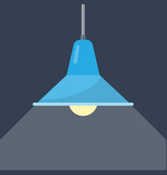 ceiling light in a loft style vector image
