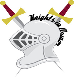 Knight In Armor vector