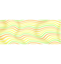 layouts from lines halftone effect wavy vector image