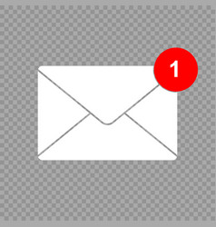 new message icon vector image