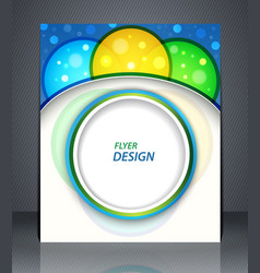 Party poster layout business flyer magazine cover vector