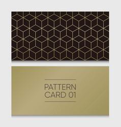 Pattern-card-01 vector