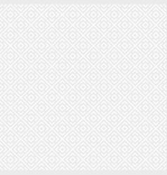regularly repeating geometric tiles of rhombuses vector image