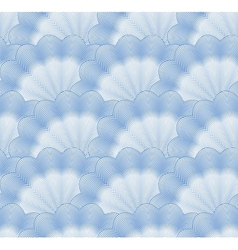 Seamless monochrome blue pattern vector image vector image