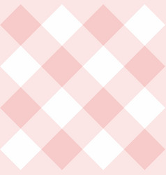 seamless pink and white background pattern vector image