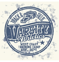 Varsity athletics vector