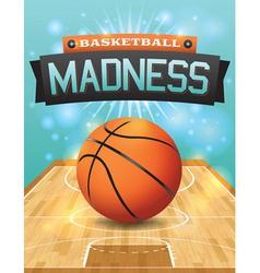 Basketball Flyer vector image