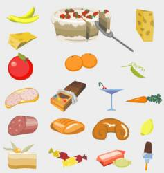 good food vector image
