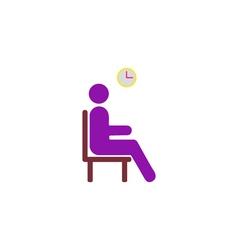 Wait Icon vector image