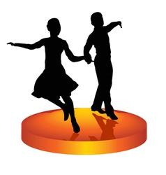 dance a waltz vector image vector image