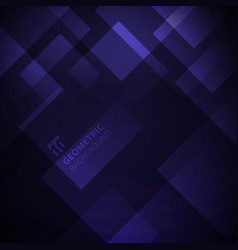 abstract purple gradient color geometric square vector image