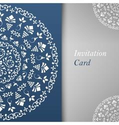 Invitation Card Template vector image
