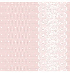 Lacy retro background vector image