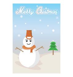 merry-cristmas vector image