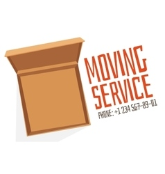 Move service box full vector image