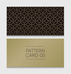 pattern-card-05 vector image