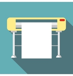 Printer icon flat style vector image