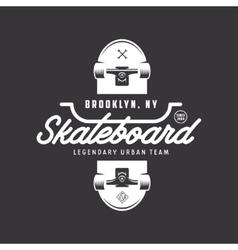 Skateboarding t-shirt design vintage vector