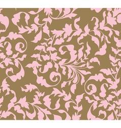 vintage seamless floral ornament vector image
