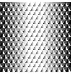 Geometric black and white tiled pattern triangles vector