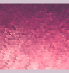 Abstract rose triangle pattern background vector