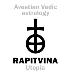 Astrology astral planet rapitvina utopia vector