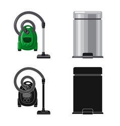 Cleaning and service icon vector