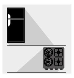 kitchen appliance vector image