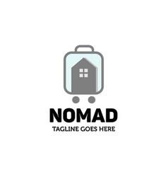nomad house logo vector image