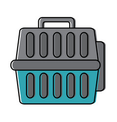 pet travel carrier accessory transport vector image
