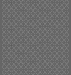seamless pattern with geometric shapes and symbols vector image