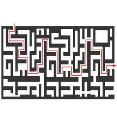 maze puzzle background vector image