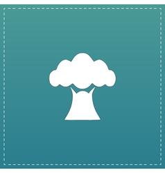 Baobab tree icon vector image vector image