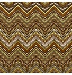 African style chevron pattern vector