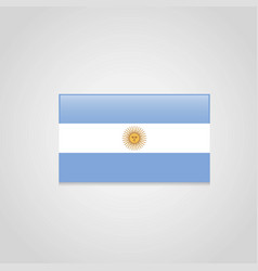 argentina flags design vector image
