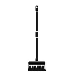 Brush mop icon simple style vector