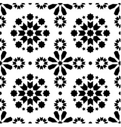 Geometric seamless pattern azulejos tiles vector