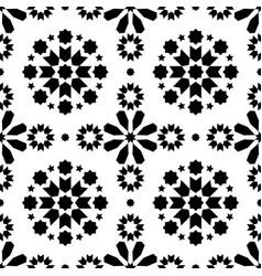 Geometric seamless pattern azulejos tiles vector