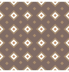 Geometric seamless pattern with rhombuses vector
