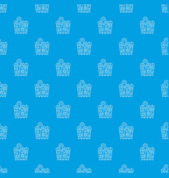 pin on the map pattern seamless blue vector image