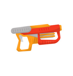 Toy gun weapon pistol for kids game vector