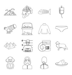 Travel cleaning history and other web icon in vector