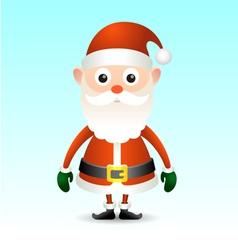 Vintage Santa Claus vector image