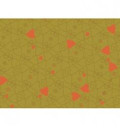 heart motifs vector image vector image