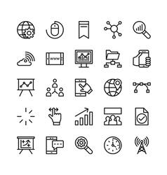 Digital marketing icons 2 vector