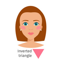 woman face types character vector image vector image