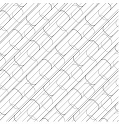 Abstract seamless geometric pattern with squares vector