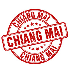 Chiang mai stamp vector