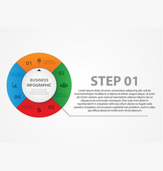color wheel with text selection vector image
